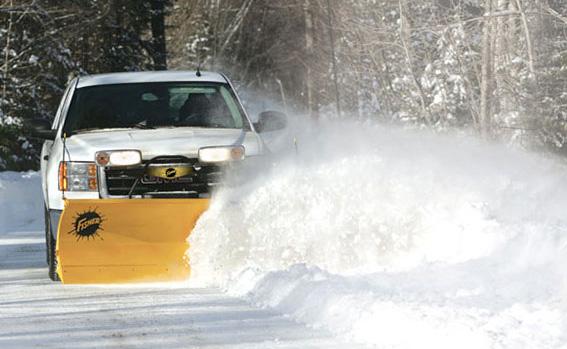snow plowing Massachusetts