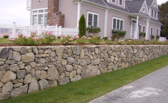 landscape masonry, stonewall