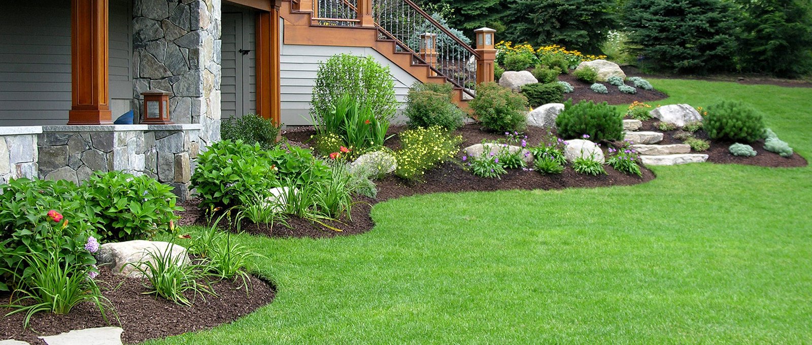 A masterful approach to commercial and<br> residential landscaping.